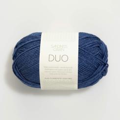 Sandnes Duo- 5864 blau meliert
