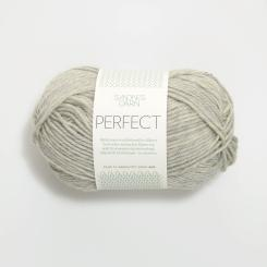 Sandnes Perfect- 1042 grau meliert