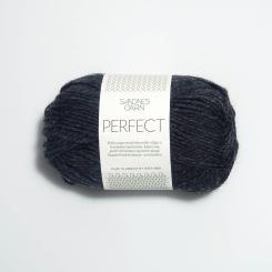 Sandnes Perfect- 1088 schwarz meliert