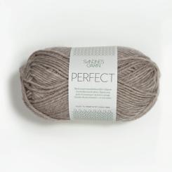 Sandnes Perfect- 2650 grau-beige meliert