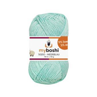 myboshi 50-50 - Meerblau 958