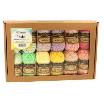 Softfun Mini Colour Pack - Pastel