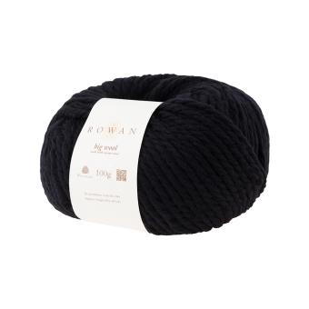 Rowan Big Wool - Black 008