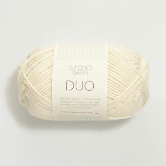 Sandnes Duo- 1002 weiß