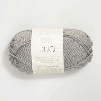 Sandnes Duo- 6030 hellgrau