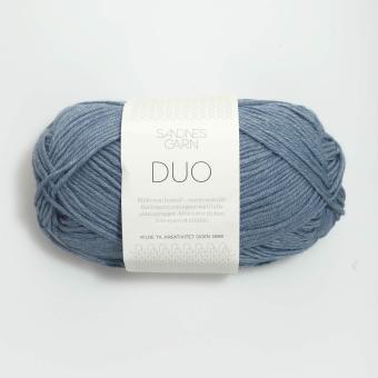 Sandnes Duo- 6033 jeansblau