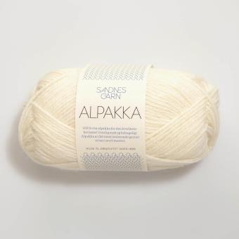 Sandnes Alpakka - Natur 1012