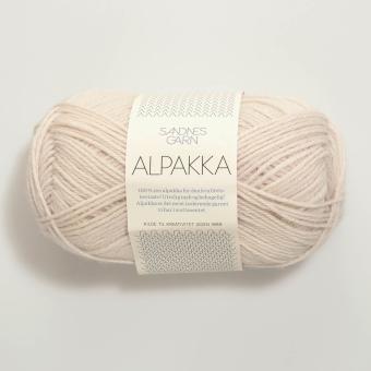 Sandnes Garn Alpakka - Creme 1015