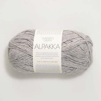 Sandnes Alpakka - Hellgrau meliert 1032