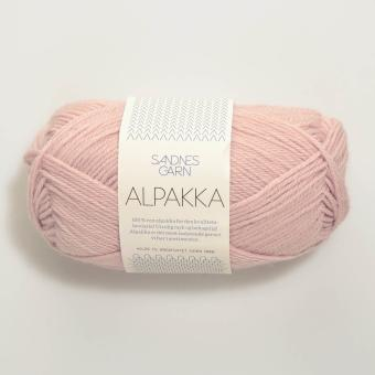 Sandnes Garn Alpakka - Puderrosa 3511