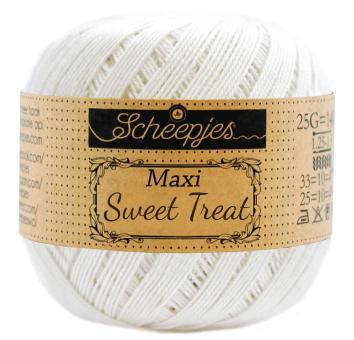 Scheepjes Maxi Sweet Treat (105) Bridal White