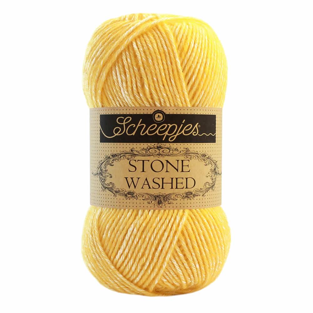 Stone Washed Farbe 836 Tourmaline Scheepjes